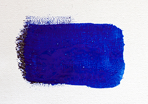 Artisan French Ultramarine mixed with water