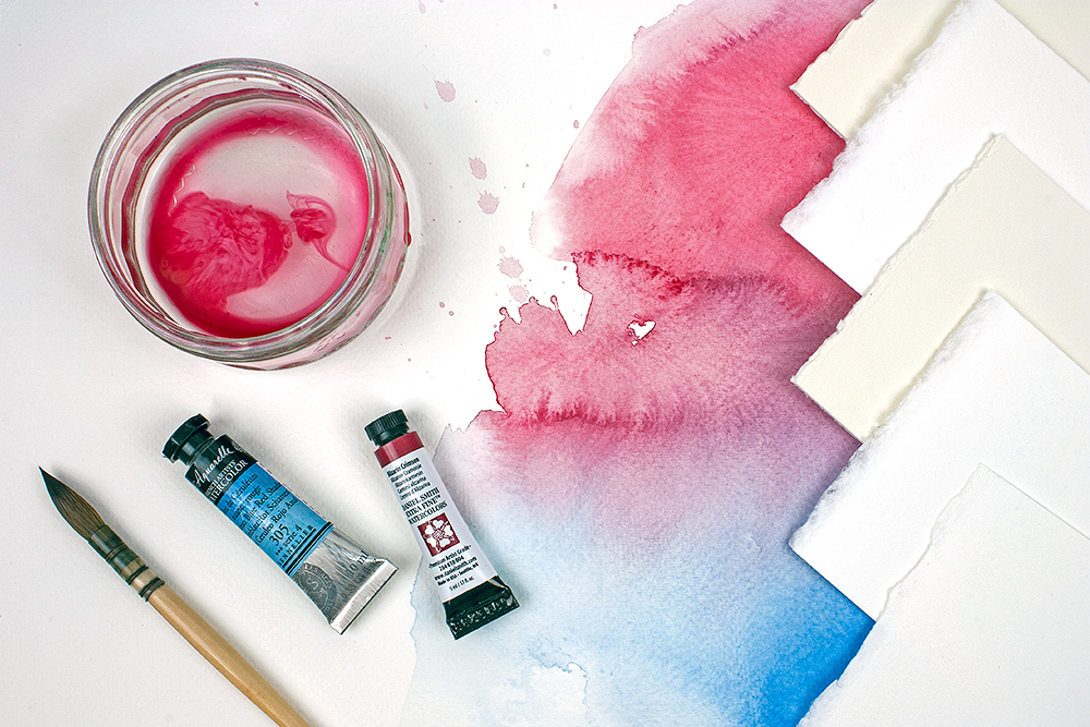 How To Choose The Right Watercolour Paper Ken Bromley Art Supplies