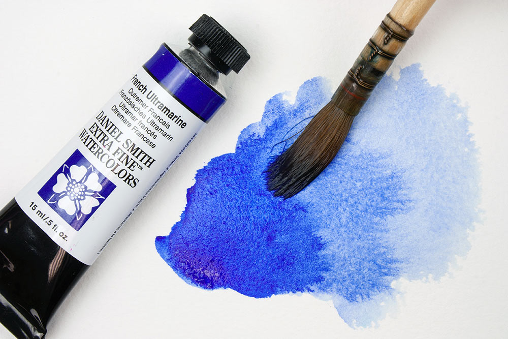 French Ultramarine Tube