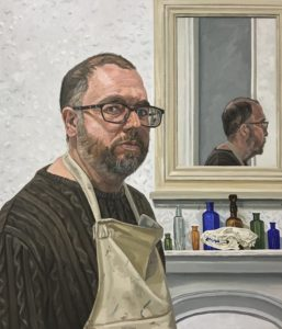 Richard-Kitson-Self-Portrait