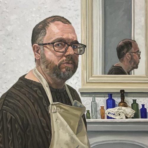 Richard-Kitson-Self-Portrait
