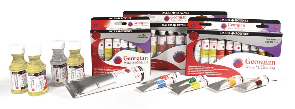 Daler Rowney Georgian Water Mixable Oils and Mediums