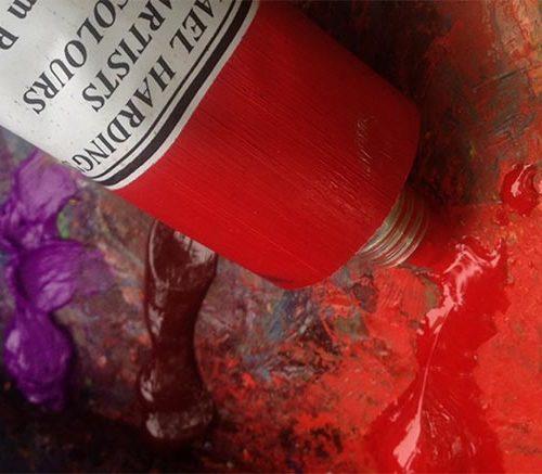 michael harding oil paint tube