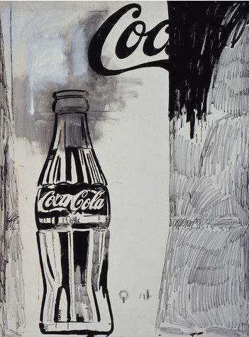 andy warhol cocacola