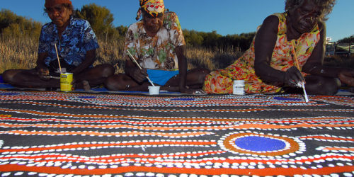 Aboriginal Art - People