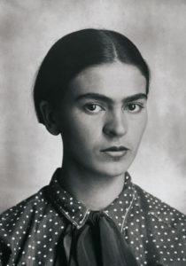 Frida Kahlo Portrait Photograph