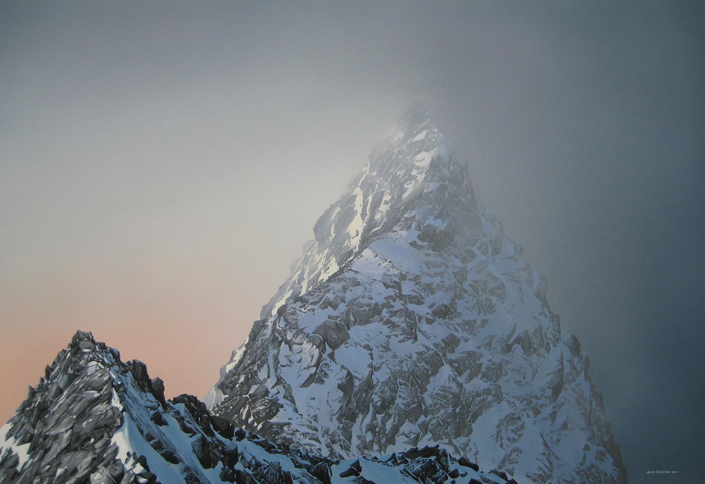 Cuillin Ridge mist