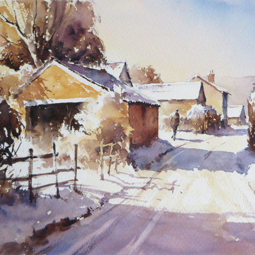 Snowfall, South Wales