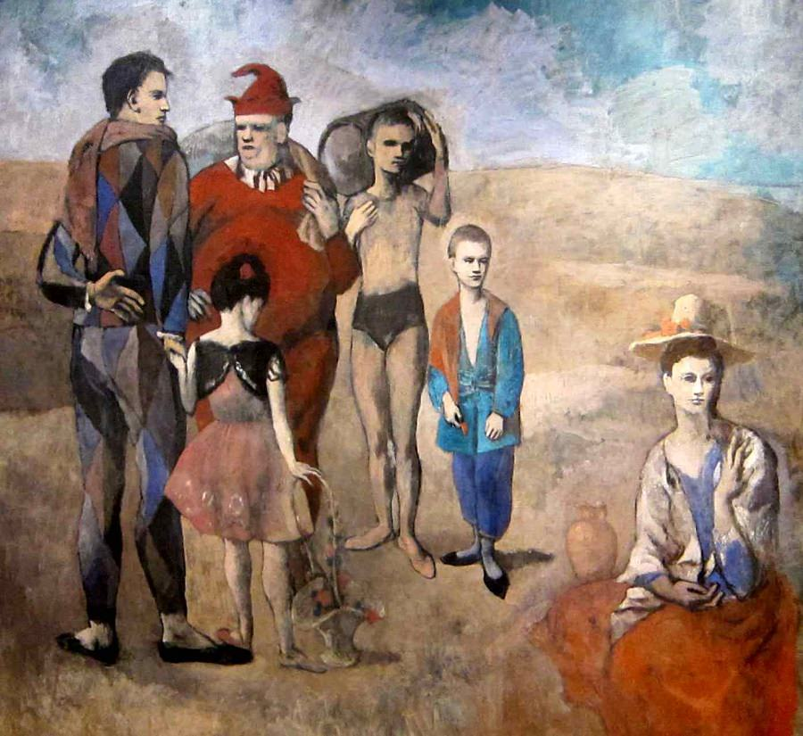 family-of-saltimbanques-picasso