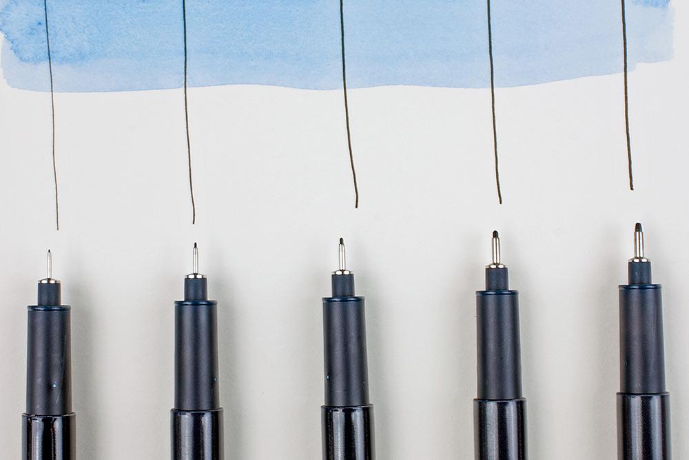 Edding 1880 Drawliner Pens
