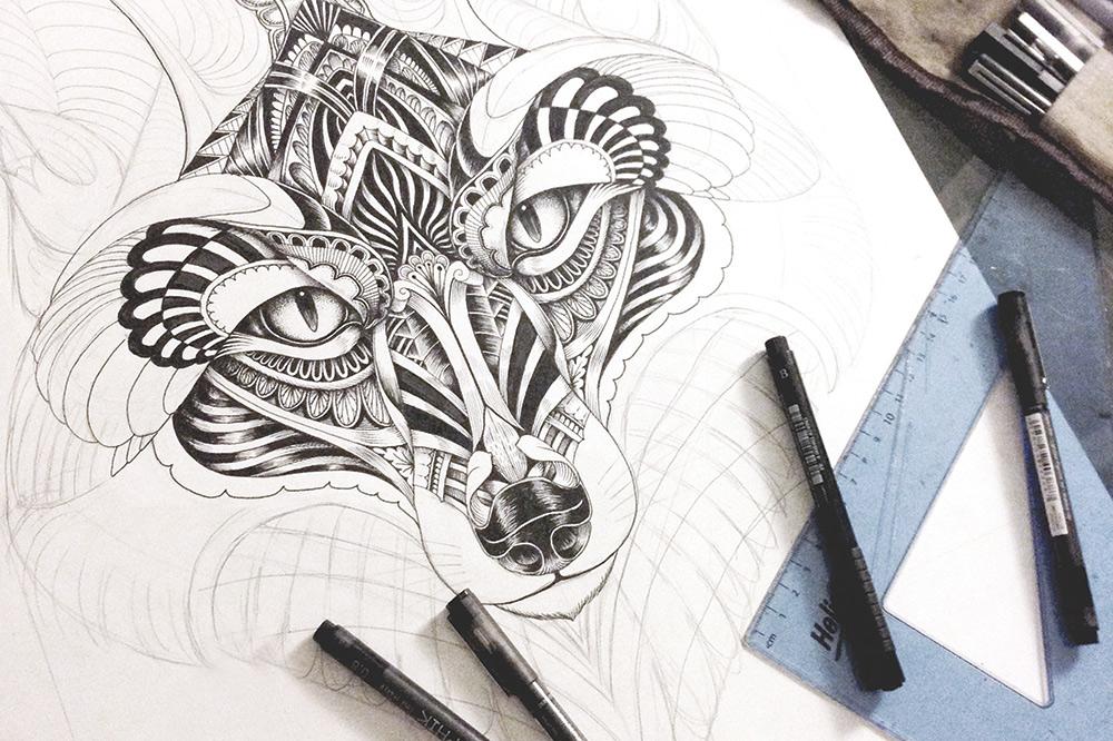 Derwent Line Maker pens