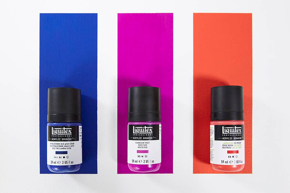 What are the Qualities of Liquitex Acrylic Gouache?