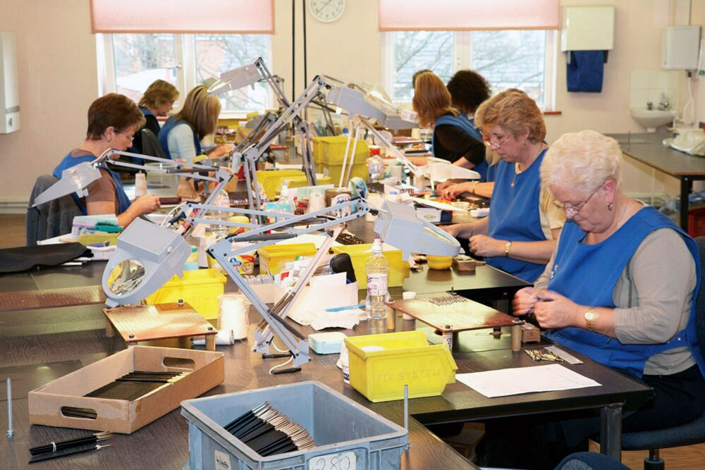 Lowestoft-based brush making factory