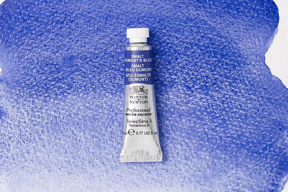 Smalt (Dumont's Blue) is an iconic colour steeped in rich history