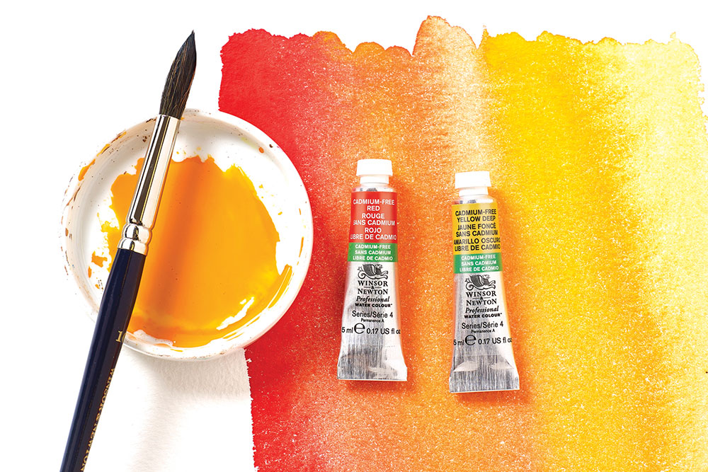 new cadmium-free colours to their Professional Watercolours