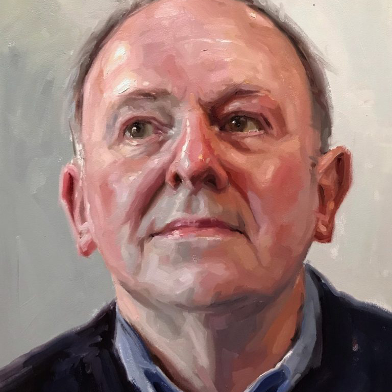 Alla Prima Portrait Painting with Oils Tutorial by Liam Dickinson