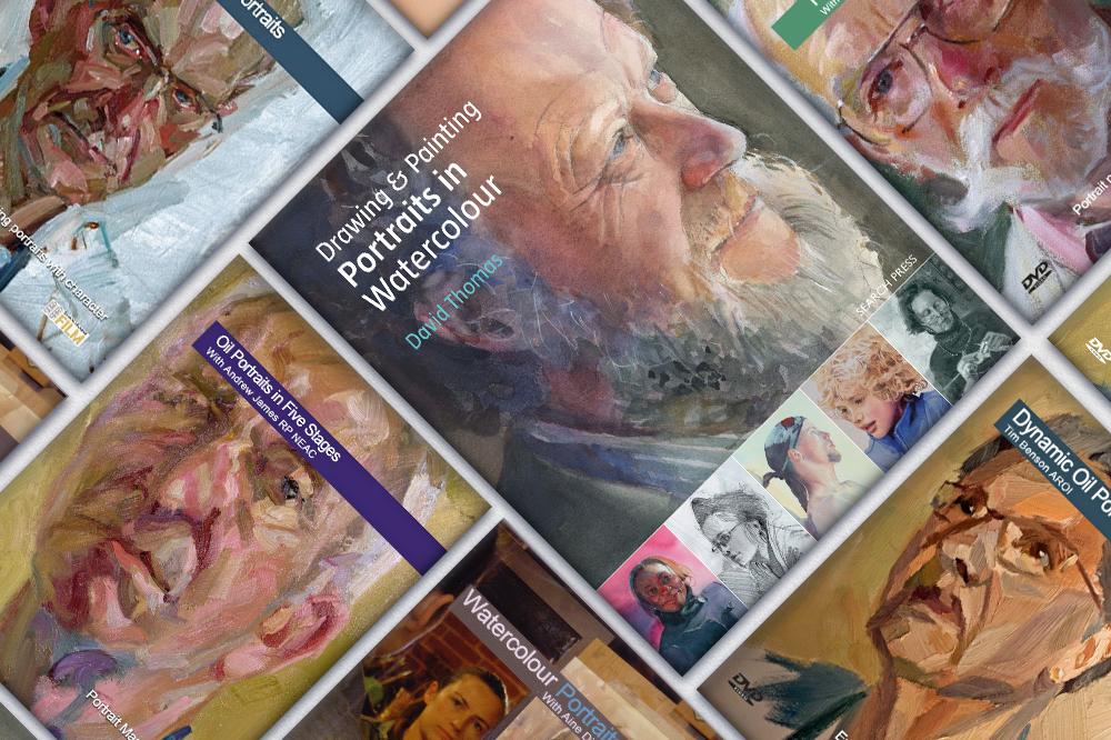Portrait Painting Books & DVDs