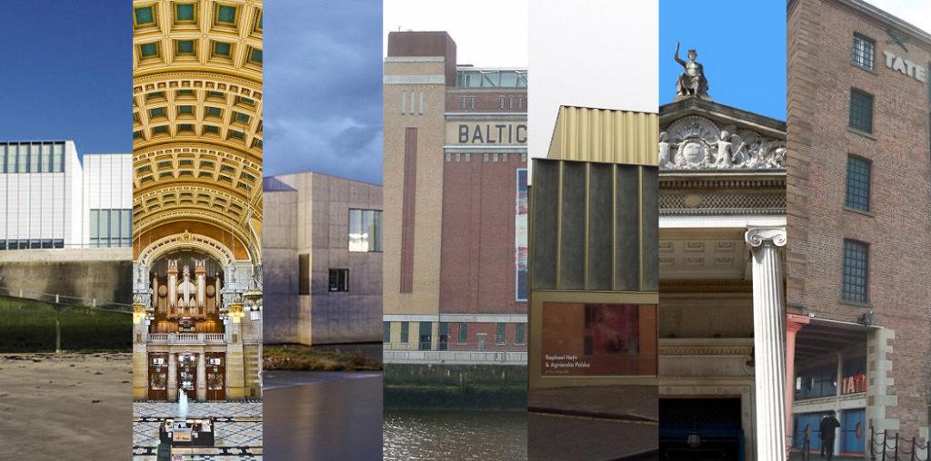 7 art gallaries outside london