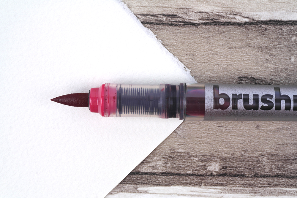 Karin Brushmarker PRO Pen nib close up detail
