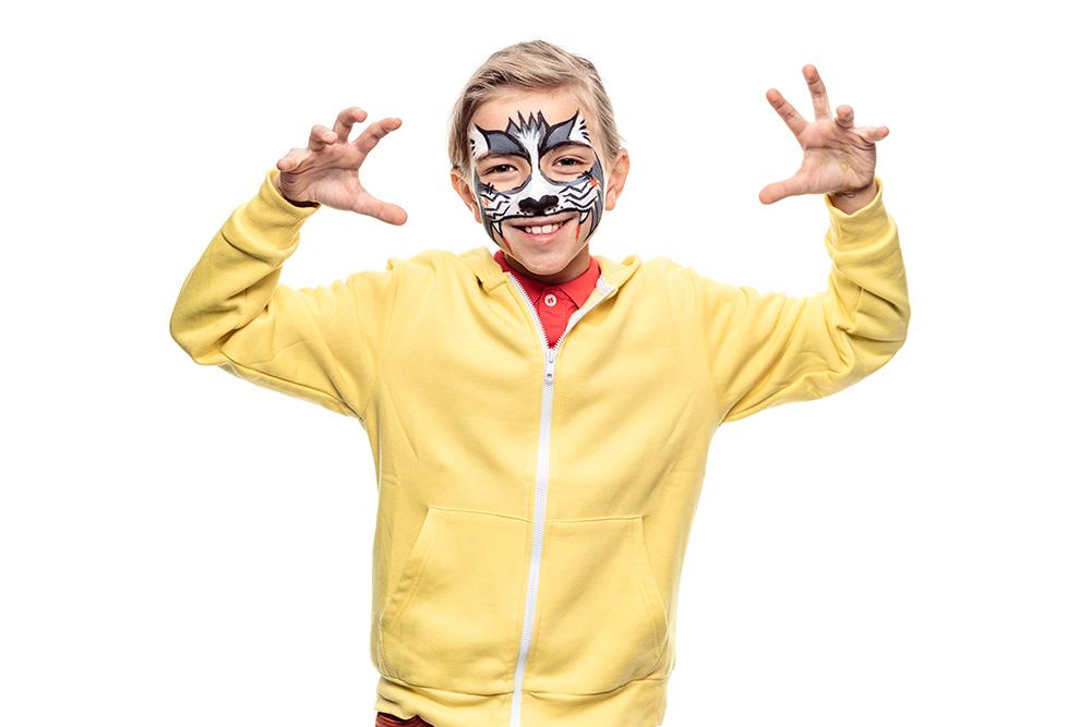 Snazaroo Cat Zombie Children's Face Paint Design
