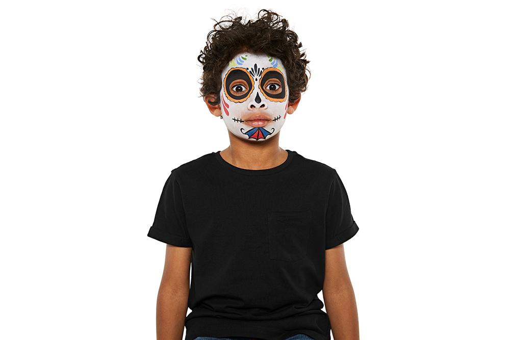 Snazaroo Sugar Skull Children's Face Paint Design