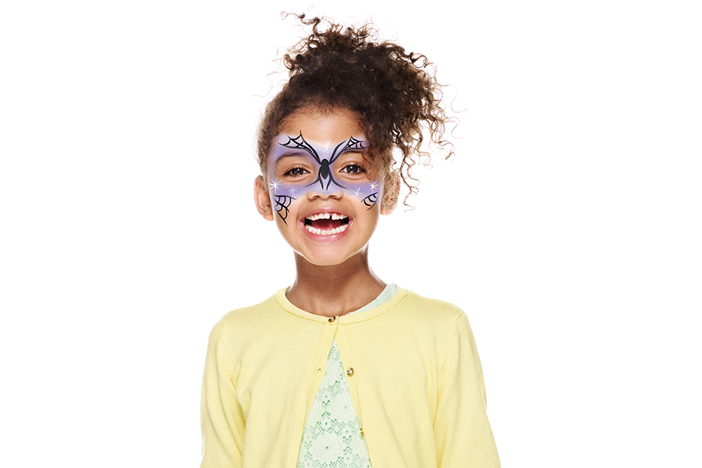 Snazaroo Witch Children's Face Paint Design