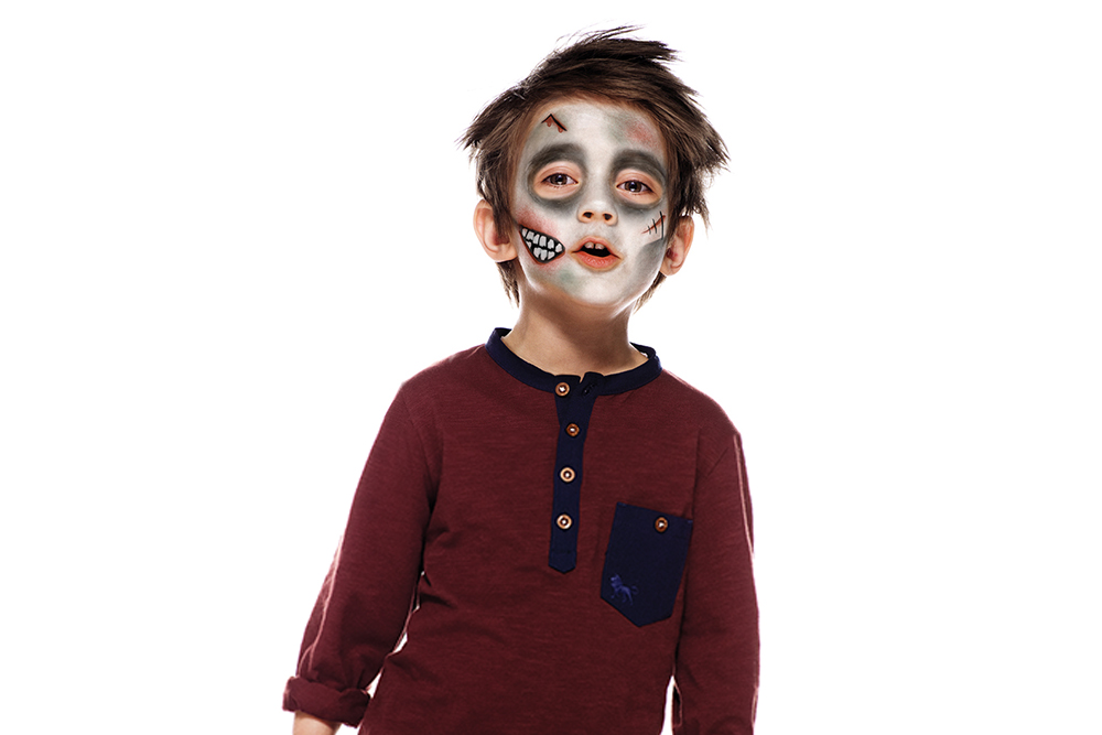Snazaroo Zombie Children's Face Paint Design