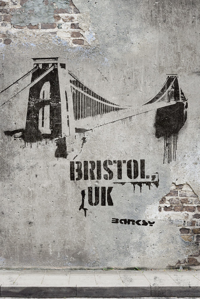 Banksy x Bristol, UK