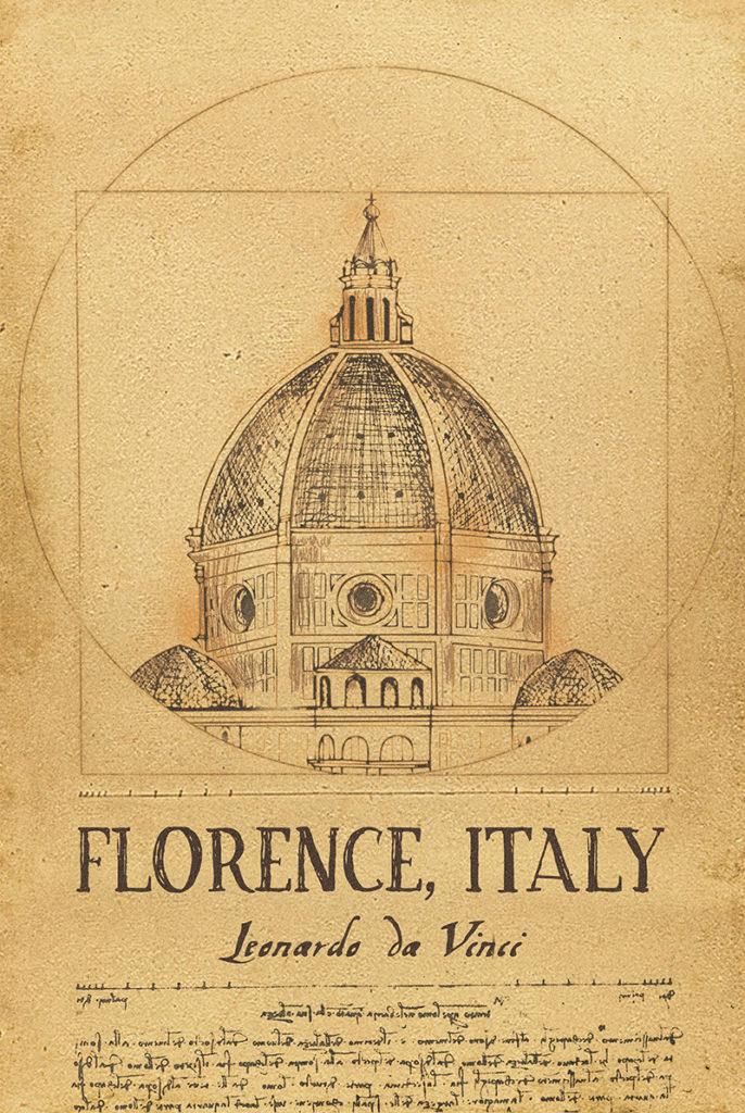 Leonardo da Vinci - Florence, Italy