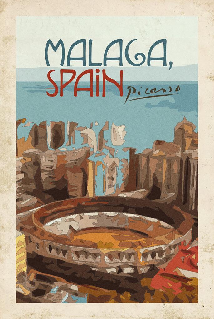 Picasso x Malaga, Spain
