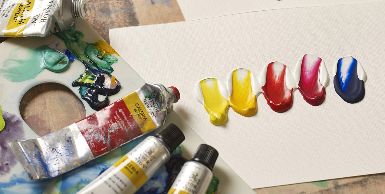 A Beginners Guide To Painting With Acrylics Tips To Get Started Ken Bromley Art Supplies