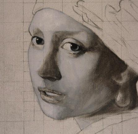 grisaille oil painting technique