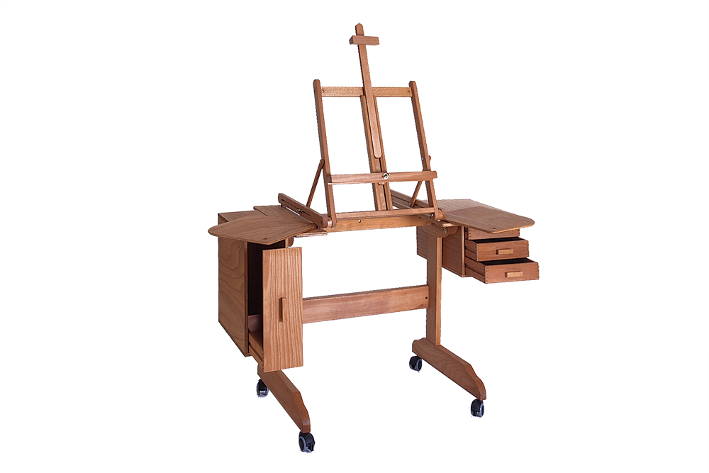 The Mabef M30 Painting Workstation is designed to accommodate wheelchair users