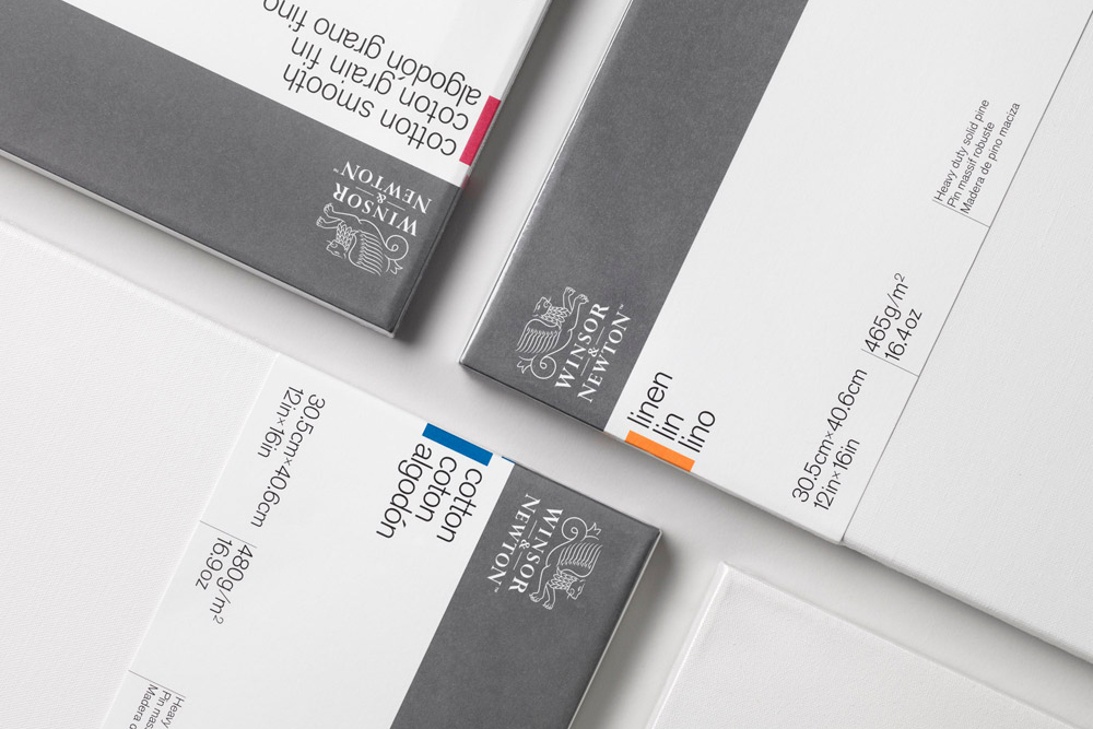 A selection of Winsor & Newton Professional Canvas