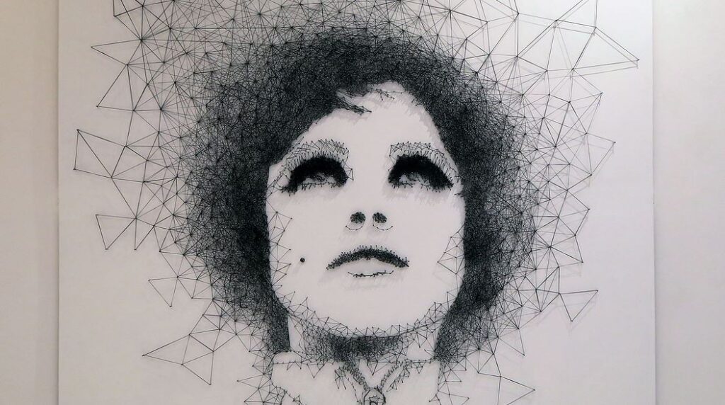 Imogen Embroidery Art