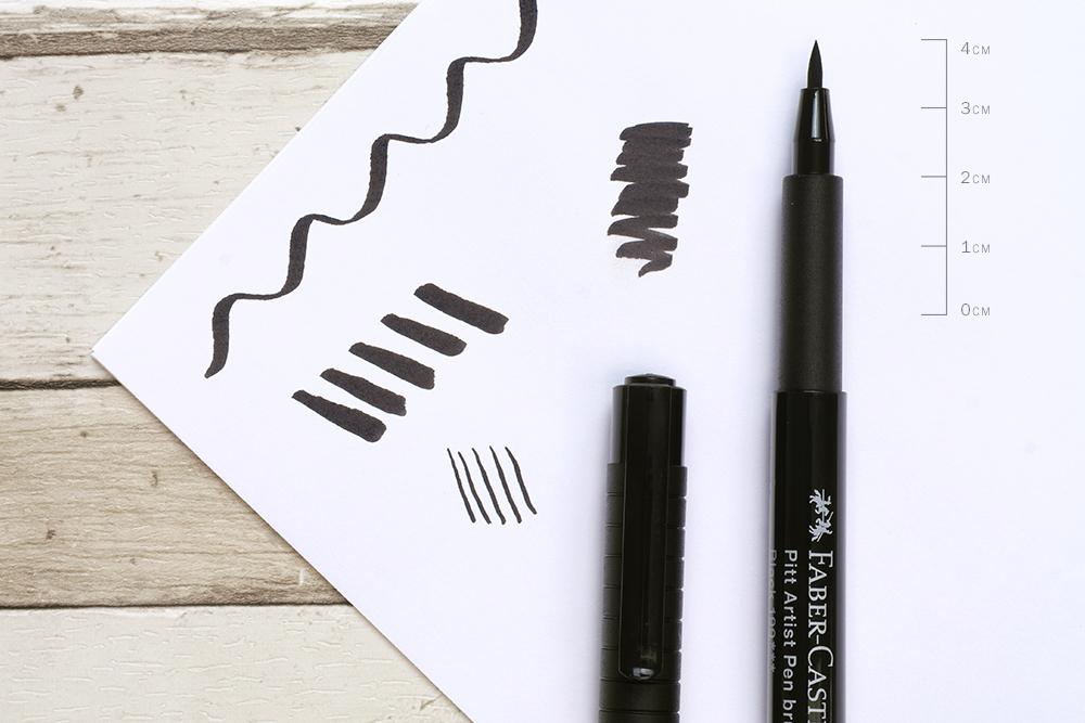 Faber Castell PITT Artists' Brush Pen Nib Detail