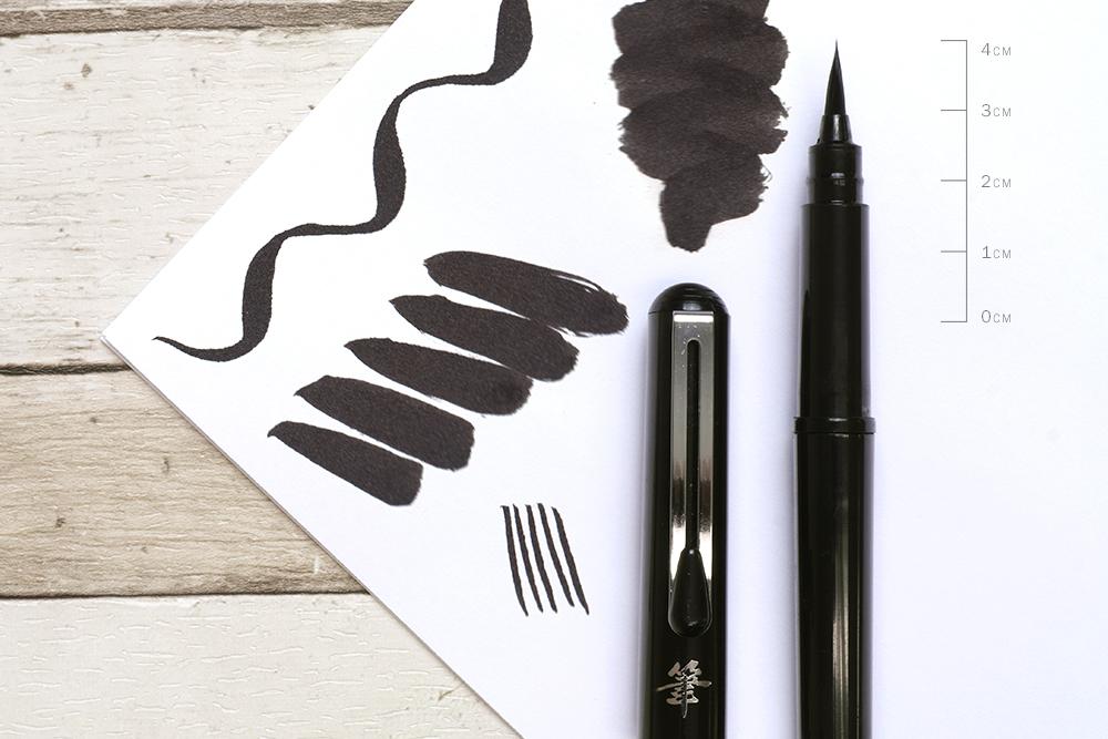 Pentel Brush Pen Nib Detail