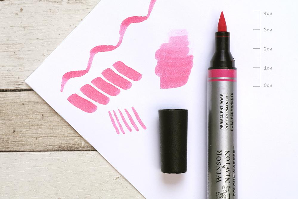 Winsor & Newton Watercolour Brush Pen Nib Detail
