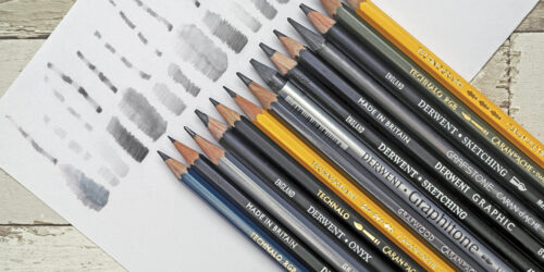 Choosing the Right Graphite Sketching & Drawing Pencil
