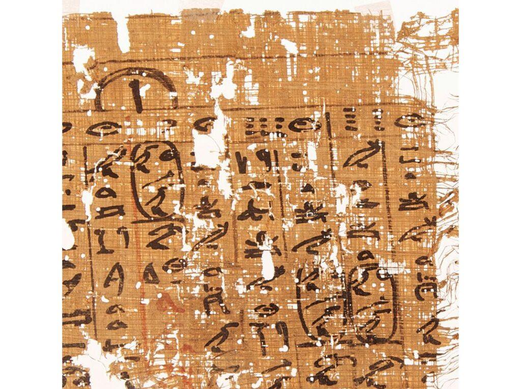 papyrus tallet