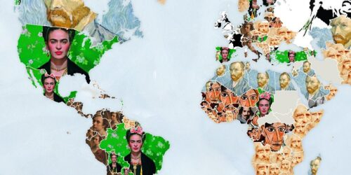 The most Googled artist in every country in the world