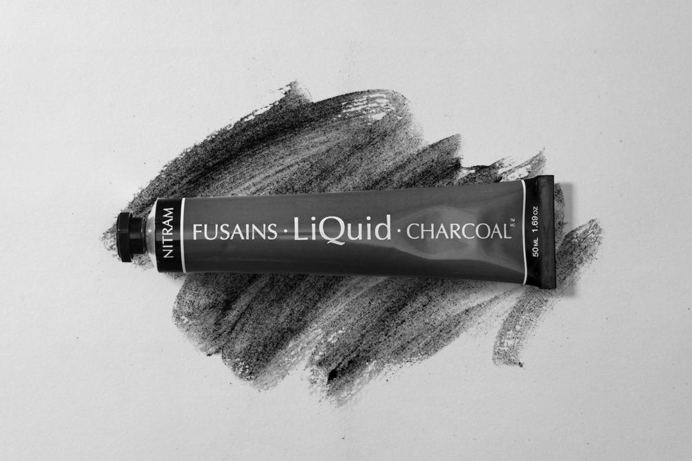 Tube of Nitram Liquid Charcoal