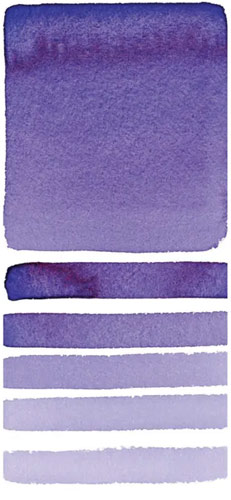 Daniel Smith Cobalt Blue Violet Swatch
