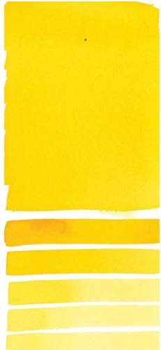 Daniel Smith Myan Yellow Swatch