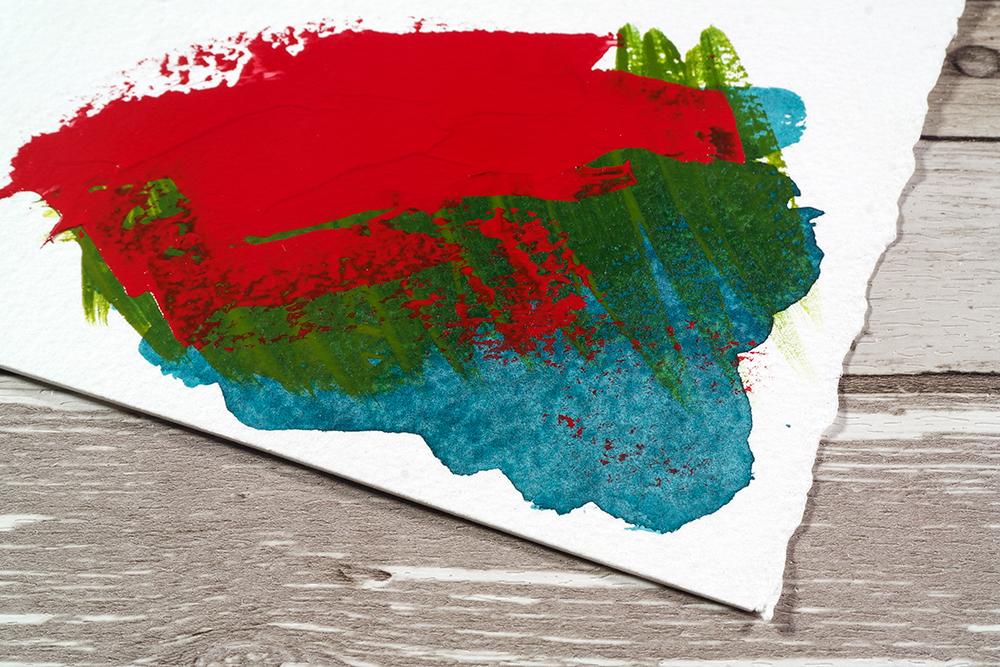 Heavy Body acrylic, soft body acrylic and acrylic ink on 300lb watercolour paper
