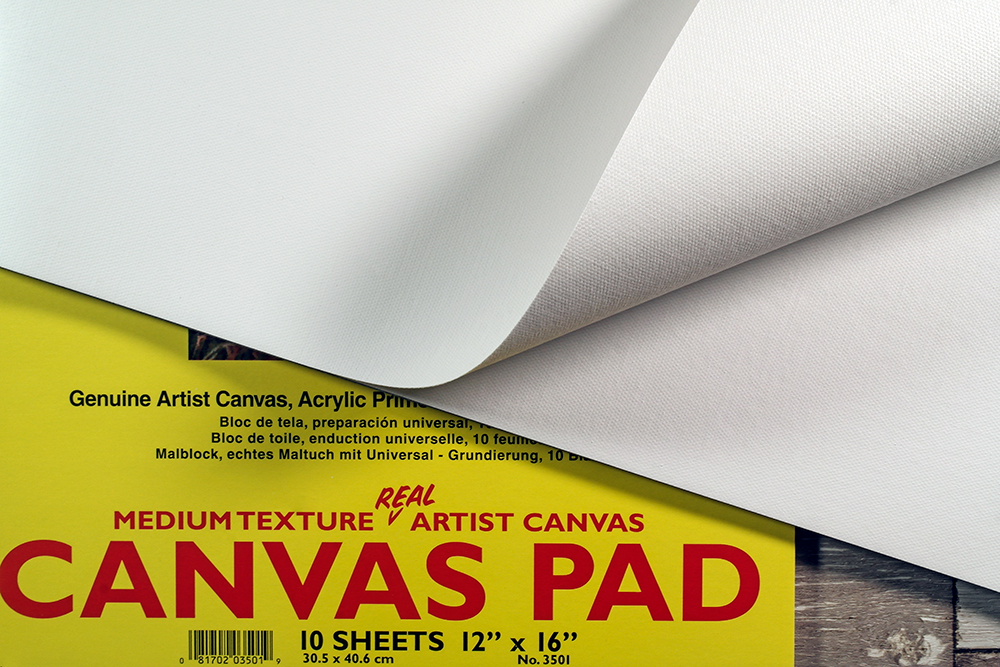 Loxley and Fredrix Genuine Canvas Artists Pads