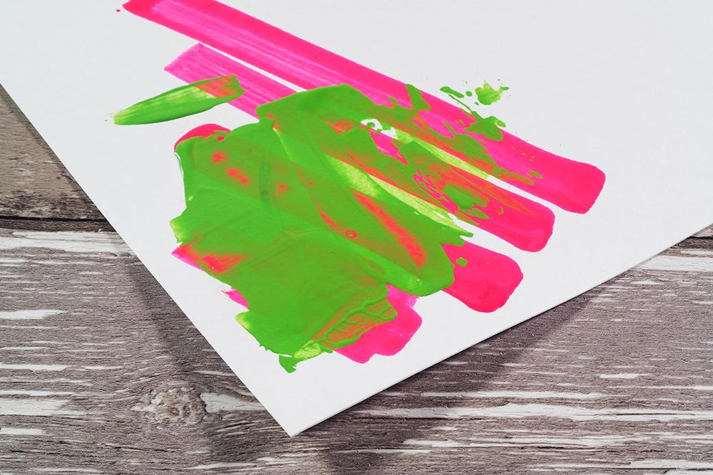Soft Body Acrylic and Acrylic Marker on Snowdon Cartridge Paper