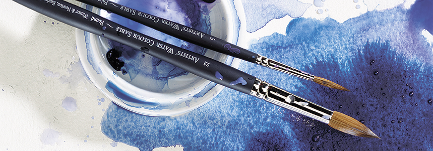 Introducing Winsor & Newton Artists' Water Colour Sable Brushes