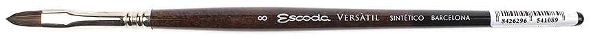 Escoda Artists Brushes Versatil Kolinsky Synthetic Filbert