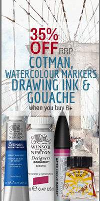 35% OFF Cotman, Gouache and Drawing Ink